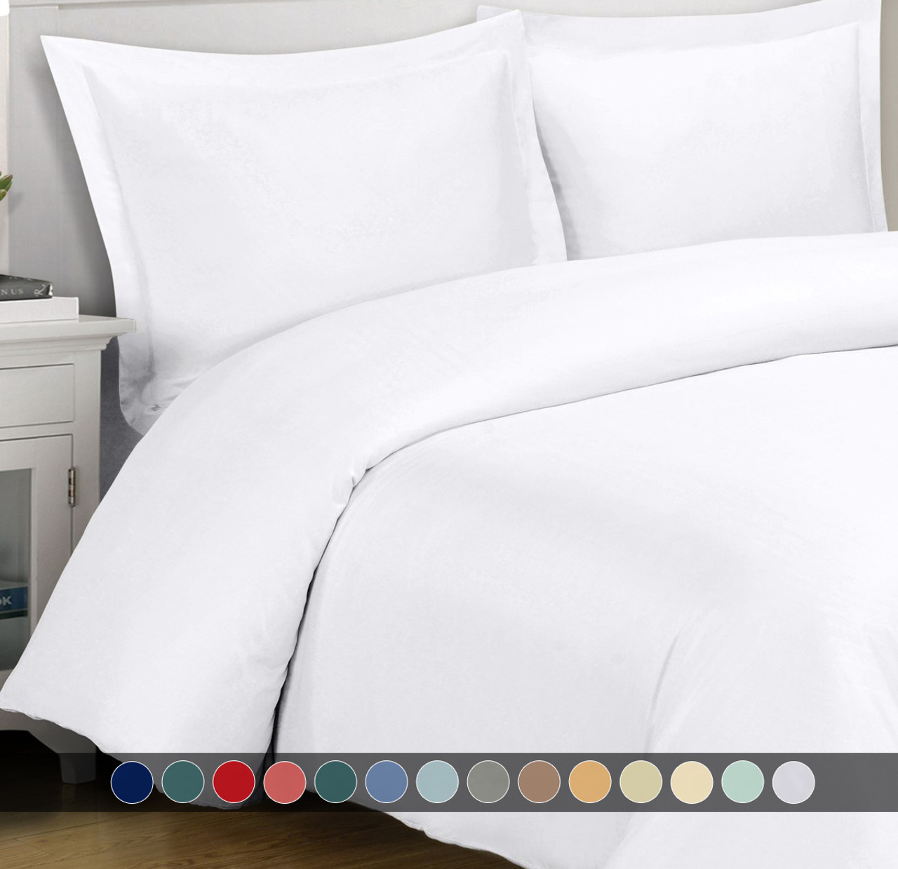 Super Soft 100% Viscose from Bamboo Duvet Cover Sets