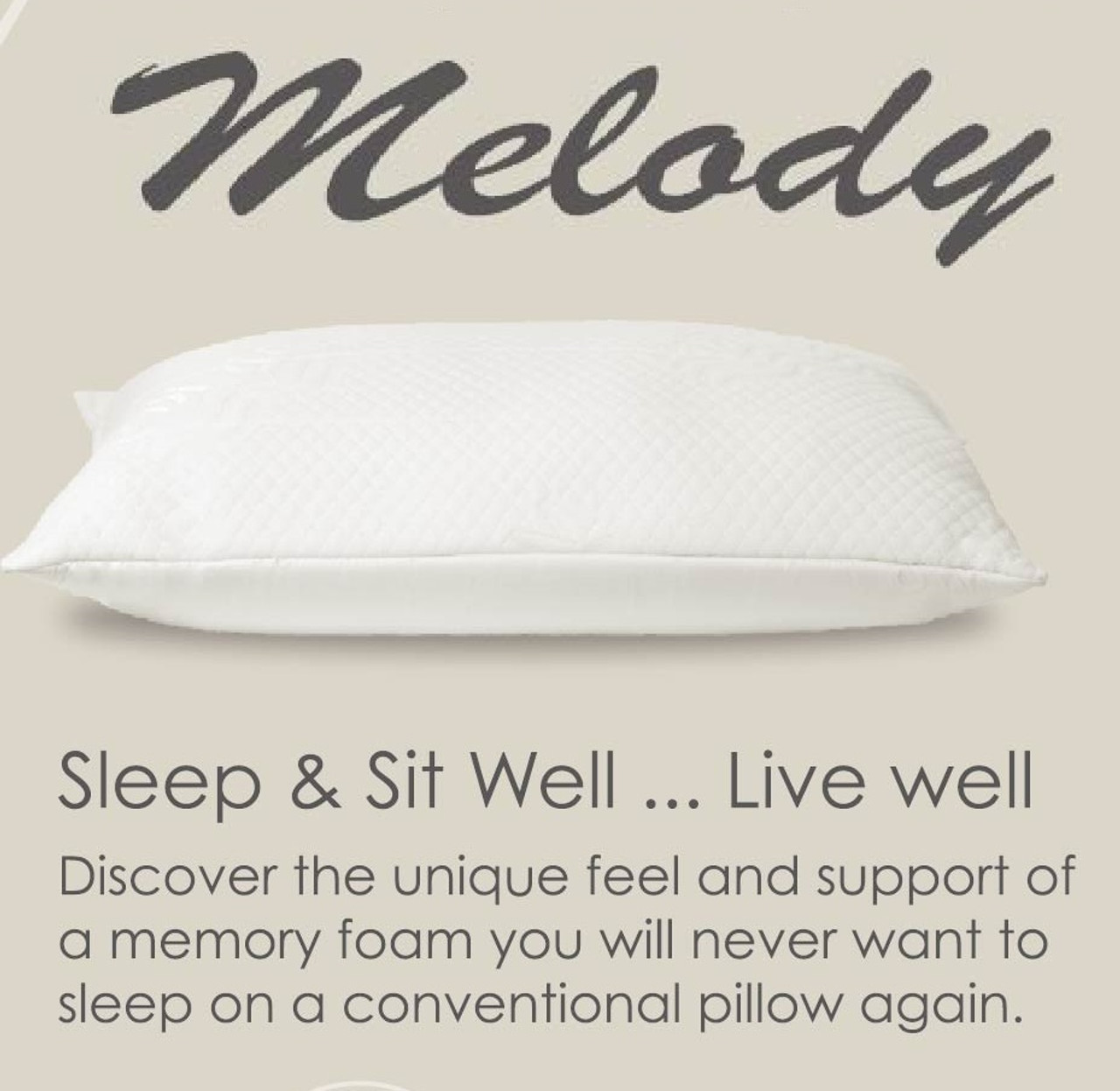 Single or Set of 2 Plush Memory Foam Pillow by Royal Tradition