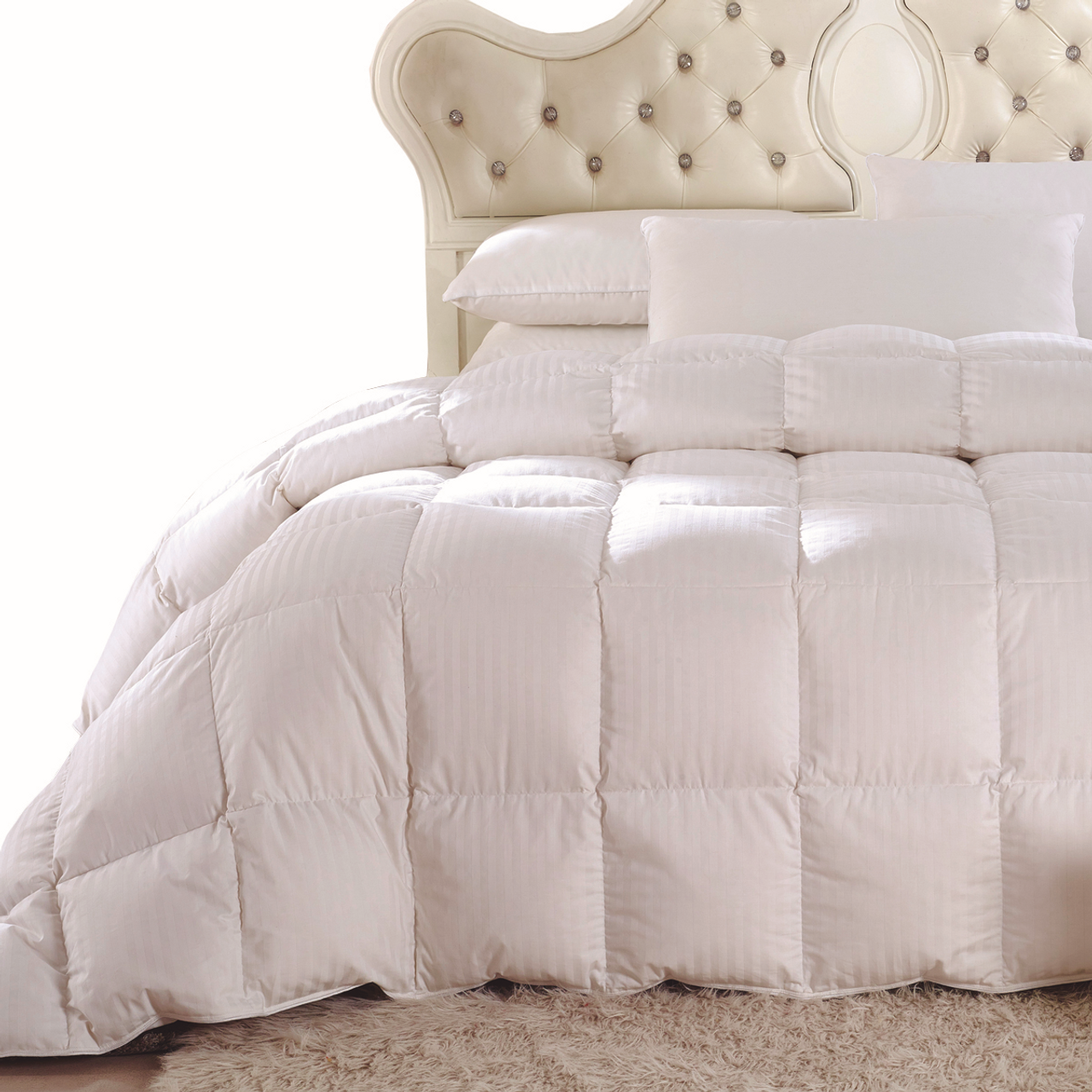 White Duck Down Comforter King Size Or California King