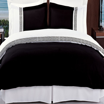 Black/White-Astrid-Embroidered-3-Piece-Duvet-Cover-Sets