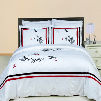 Florence-Embroidered-100%-Cotton-3-Piece-Duvet-Cover-Set