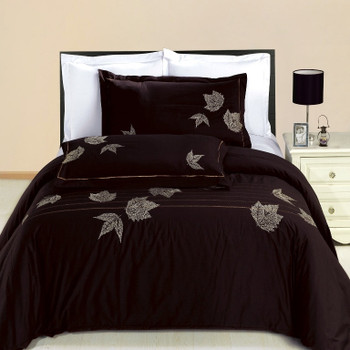 Newbury Embroidered Cotton Multi-Piece Duvet Set