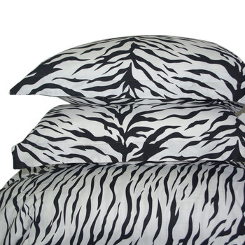 Zebra-100%-Cotton-3-Piece-Duvet-Cover-Set-Pillow-Shams