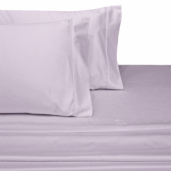 Luxury-Cotton-600-Thread-Count-Solid-Bed-Sheets-Set-Lilac
