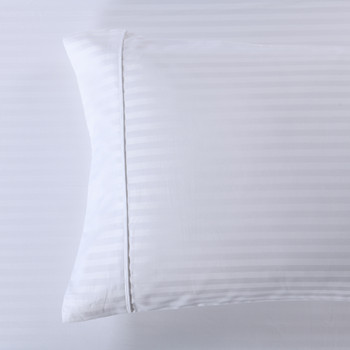 Pillowcases-600-Thread-Count-100%-Cotton-Damask-Stripe