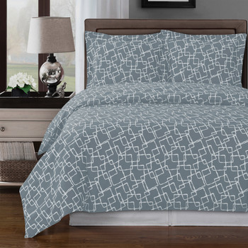 Gray/White-Eva-Cotton-Duvet-Cover-Set