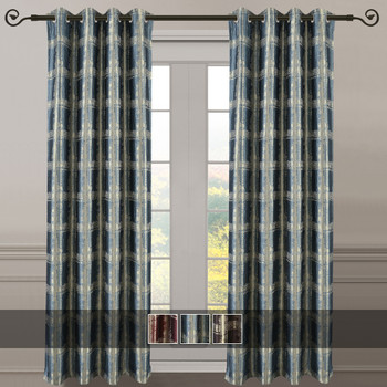 Studio Jacquard Grommet Top Curtains