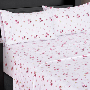 Zahra-300-Thread-Count-100%-Cotton-Sheet-Sets-Closeup