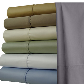 Split-King-Sheets-1000-Thread-Count-100%-Cotton-Solid-Sheet-Sets