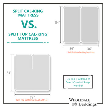 Top-Split-CAL-King-Mattress-VS-Split-CAL-King-Mattress