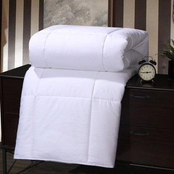 Silk-Filled-Blanket400-Thread-Count-100-Cotton -White
