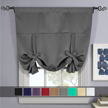 Gray-Ava-Blackout-Weave-Curtains-Rod-Pocket-Tie Up