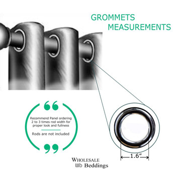 Grommet Measurements Info