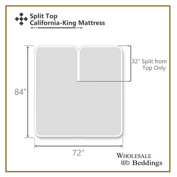 Split Top ( Flex) California King Fitted Sheet  340 Thread Count Pure Cotton ( Fitted Sheet Only)