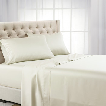 Ivory Tencel Lyocell 600 Thread Count Sheet