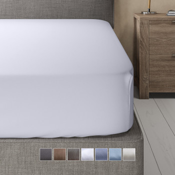 Fitted Sheet Bamboo Hybrid Cotton Blend