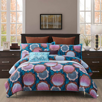 Fantasy 7 Piece Cotton Duvet Cover Set