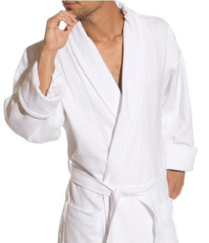 White Cotton Bath Robes