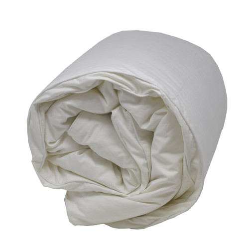Hungarian Down Alternative comforter folded