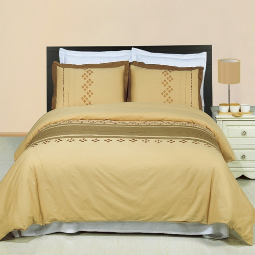 Lakewood-Embroidered-100%-Cotton-3-Piece-Duvet-Cover-Sets