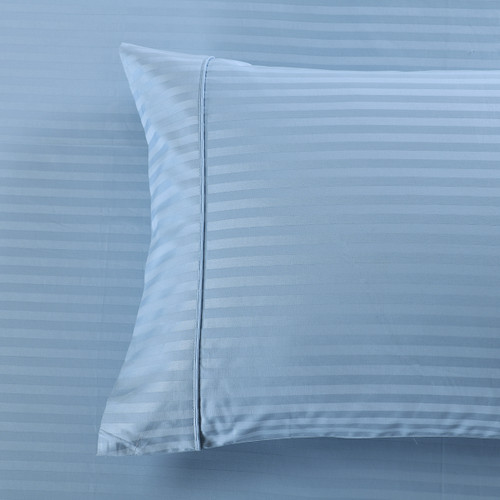 100% Cotton Damask Striped 1000 Thread Count Pillowcases