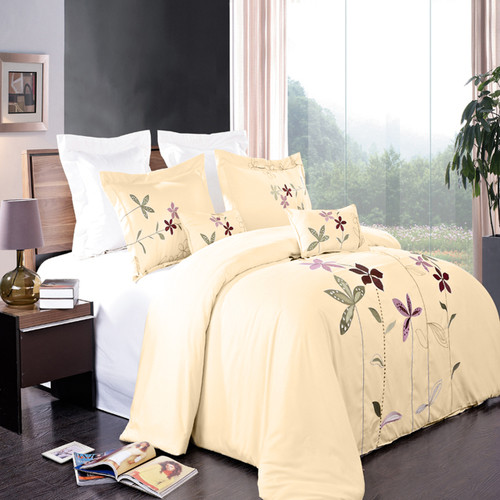 Ivory-South-Garden-5-Piece-Embroidered-Duvet-Cover-Sets