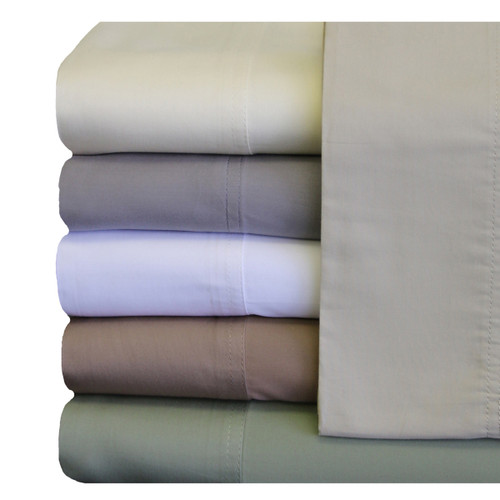 Soft-Cool-King-Standard-Pair-Pillowcases-Eucalyptus-Tencel