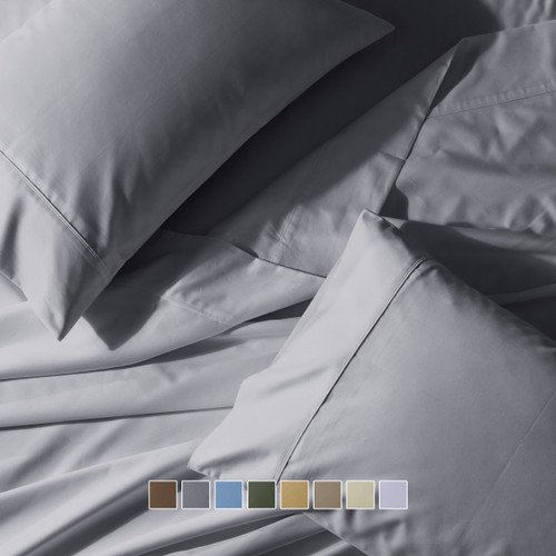 Gray-Wrinkle-Free-Extra-Long-Twin-Sheets-650-Thread-Count-Solid