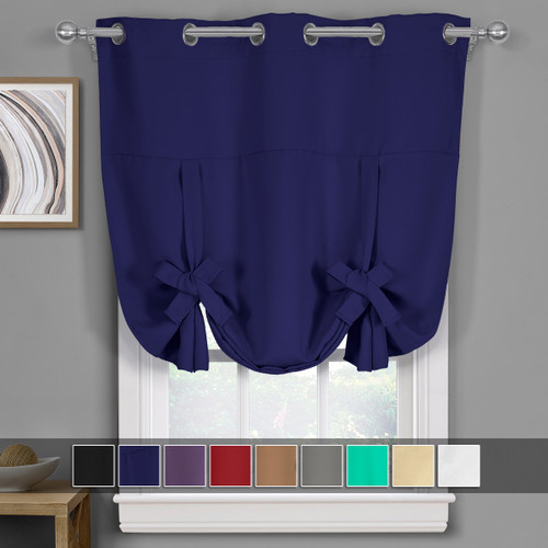 Navy-Ava-Blackout-Weave-Curtains-Grommet-Tie-Up