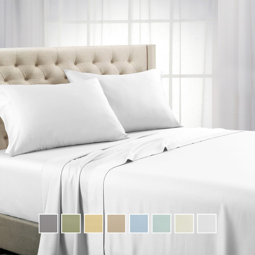 Split-Top-Split-Head-California-King-1000-Thread-Count-100-Cotton-Solid-Sheet-Sets