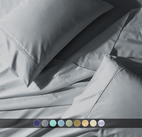 T300 PERCALE OVERSIZED TOP SPLIT KING SHEET SET