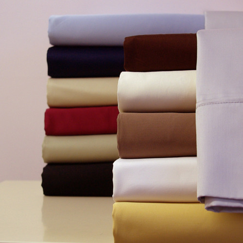 450 Thread Count 100% Cotton Sheet Sets With Colors