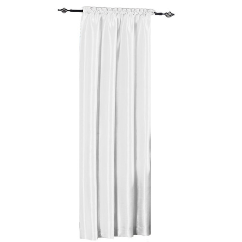 White-Soho-Faux-Silk-Curtain-Panels-Single
