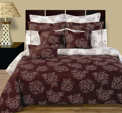 Cloverdale-11-Piece-Reversible-100%-Cotton-Bedding-Set
