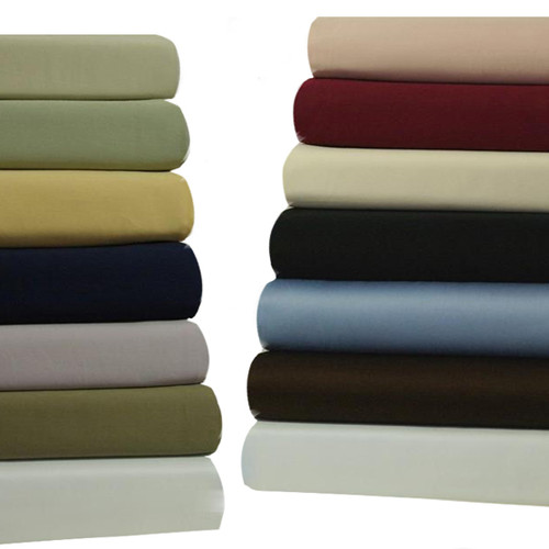 Attached-450-Thread-Count-Solid-king-Size-Waterbed-Sheets