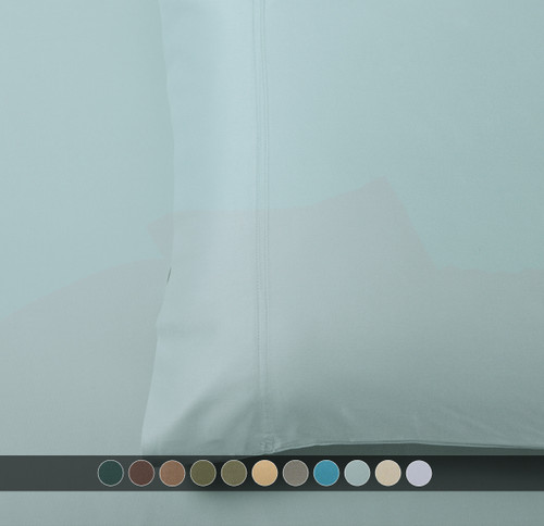 Sea-Pillowcases-100%-Bamboo-Viscose-600-Thread-Count- Available-Colors