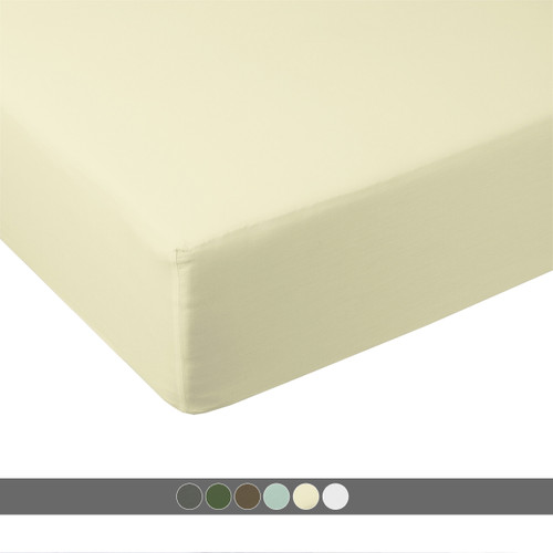 Queen-Fitted-Sheet-100- Bamboo-600-Thread-Count