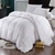 Goose Solid 600tc: 100% cotton 600 Thread count solid shell, 700 fill power, Baffle Box with 2 inches gusset, winter 56 ounces fill, Extra-warm