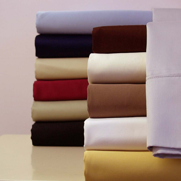 100-Cotton-Sateen-300-Thread-Count-Solid-Bed-Sheets-Sets