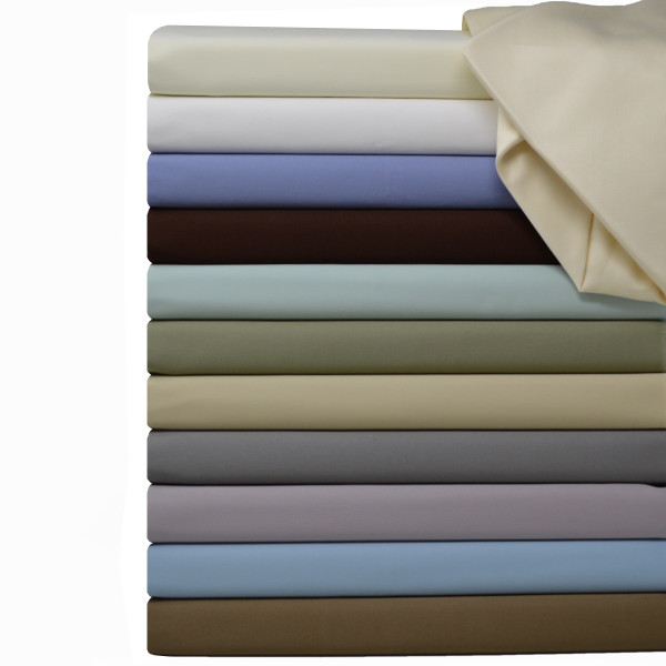 Luxury Pure Cotton 600 Thread Count Sheets Solid Bed Sheets Set