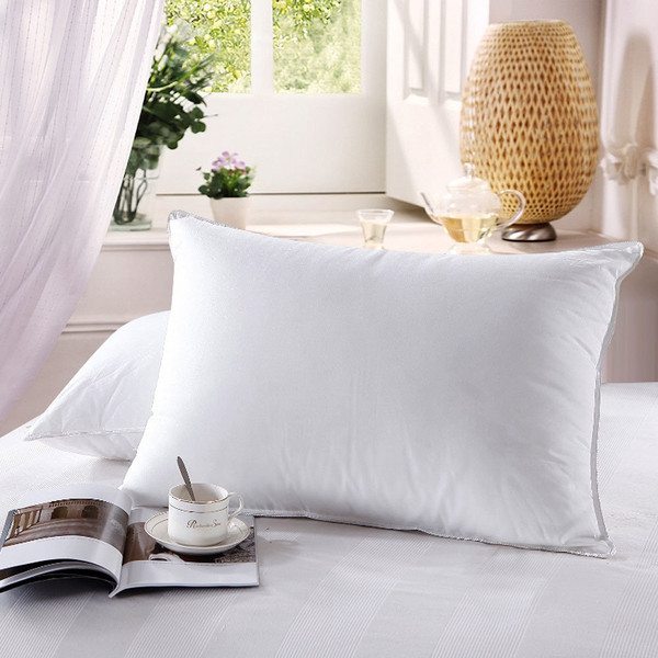 Down Pillows 600 Thread Count Neck Support Pillow