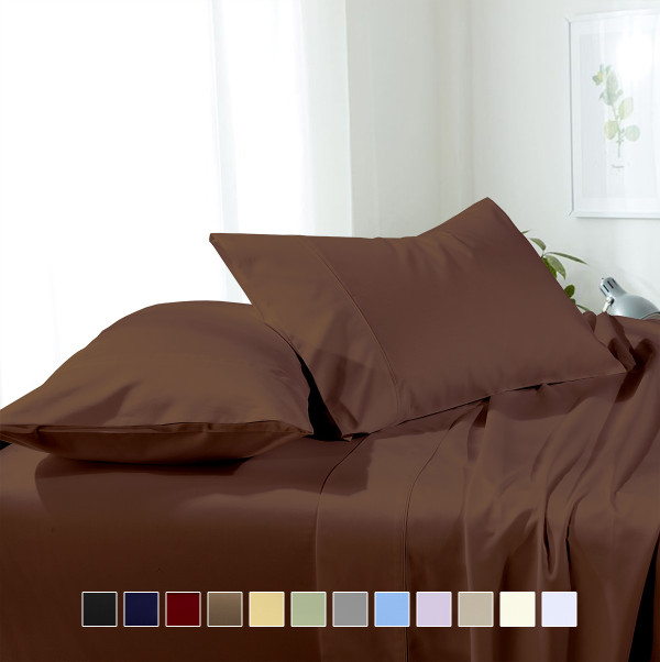 California King Sheet Set Hotel Microfiber Super Soft & Wrinkle-Free