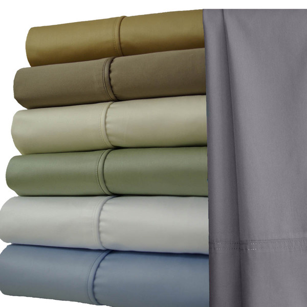 Luxury-1200-Thread-Count-100-Cotton-Sheets-California-King-Size-Solid