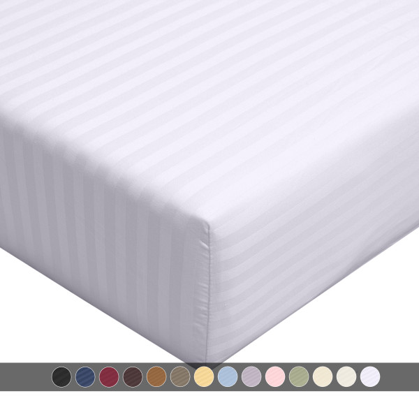 White-Calking-fitted-sheet-stripe-300-thread-count