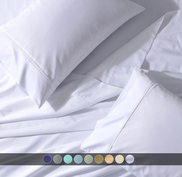 T300 PERCALE TOP SPLIT CAL.KING SHEET SET