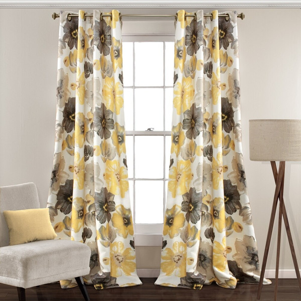 Leah Room Darkening Curtain Panel