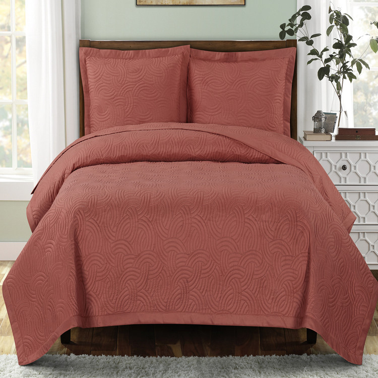 Emerson Oversized Quilts Coral