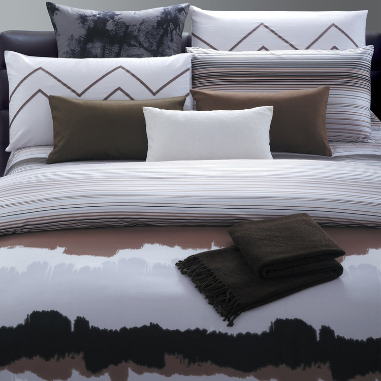 Watercolor 7 Piece Cotton Duvet Cover Set