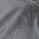 Abripedic Gray Weighted Blanket Breathable Cotton with Removable Velvet Cover Included