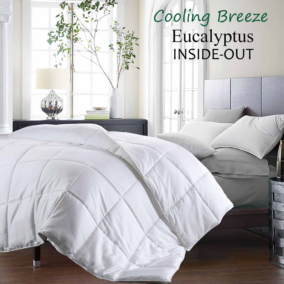 Cooling Breeze Eucalyptus Inside Out Comforter